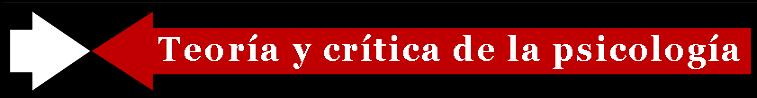 Revista Teoría y crítica de la psicología